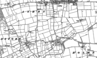 Old Map of Bottesford, 1886 - 1902