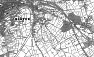 Old Map of Boughton Heath, 1898