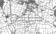 Old Map of Boulton Moor, 1881 - 1899