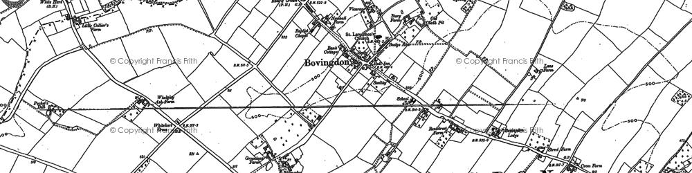 Old map of Bovingdon Green in 1897