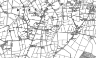 Old Map of Boxted, 1896 - 1902