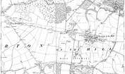 Old Map of Boyndie, 1883 - 1900