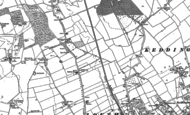 Old Map of Brackenborough Lawn, 1886