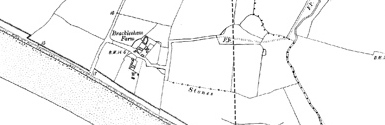 Old map of Bracklesham Bay centred on your home
