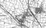 Old Map of Brackley, 1898