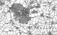 Map of Bradfield, 1887