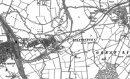 Old Map of Bradville, 1898 - 1924