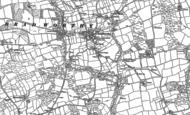 Old Map of Bradworthy, 1884 - 1905