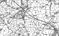 Old Map of Bramhall, 1897