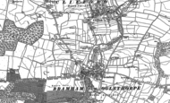 Old Map of Bramham, 1891