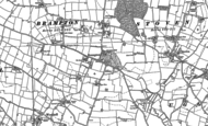 Old Map of Brampton, 1883