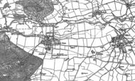 Old Map of Brampton Bryan, 1902