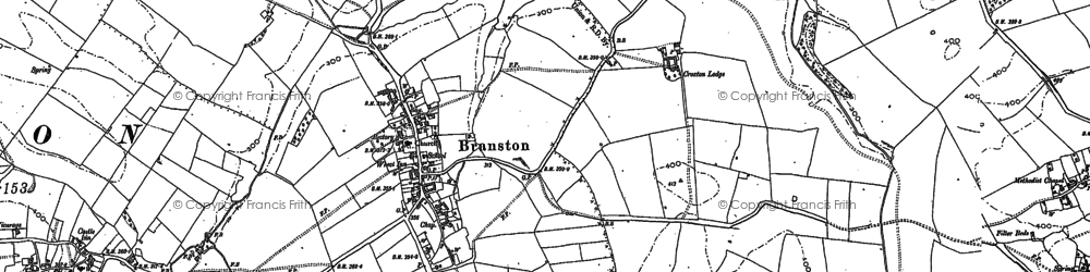 Old map of Lings Hill in 1884