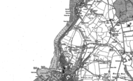 Old Map of Bransty, 1923
