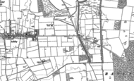 Old Map of Brat Hill, 1885 - 1886