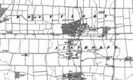 Old Map of Brattleby, 1885