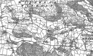 Old Map of Bratton, 1902