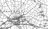 Old Map of Braunston, 1884 - 1899