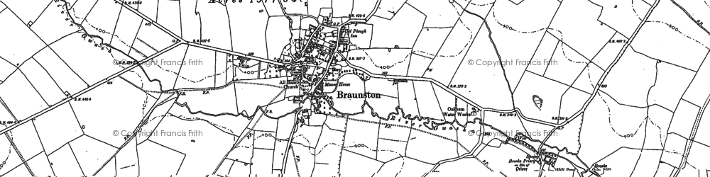 Old map of Leigh Lodge in 1884