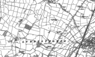 Old Map of Braunstone Town, 1885