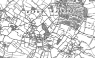 Old Map of Breachwood Green, 1899