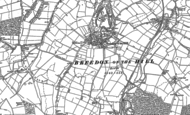 Old Map of Breedon on the Hill, 1899 - 1901