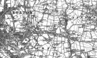 Old Map of Breightmet, 1890 - 1891