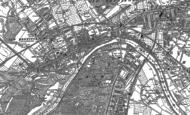 Old Map of Brentford, 1893 - 1894