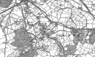 Old Map of Brereton, 1882 - 1883