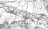 Old Map of Briantspuddle, 1885 - 1887