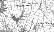 Old Map of Bricklehampton, 1884