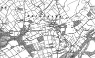 Old Map of Bridekirk, 1898 - 1923