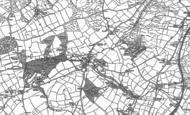 Old Map of Bridestowe, 1883 - 1884