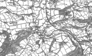Old Map of Bridge Reeve, 1886 - 1887