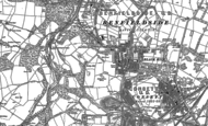 Old Map of Bridgehill, 1916 - 1919