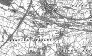Old Map of Bridgend, 1882