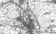 Old Map of Bridgend, 1913 - 1914