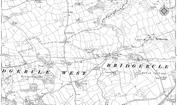 Old Map of Bridgerule, 1905