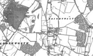 Old Map of Brightwalton, 1898