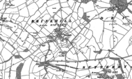 Old Map of Brinkhill, 1887 - 1888