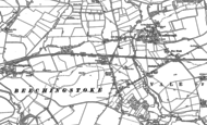 Old Map of Broad Street, 1899