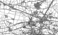 Old Map of Broadheath, 1897 - 1908