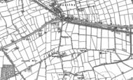 Old Map of Broadholme, 1885 - 1900