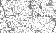 Old Map of Broadoak, 1881