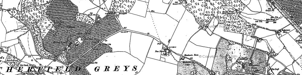 Old map of Broadplat in 1897