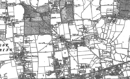 Old Map of Broadwater, 1909