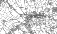 Old Map of Broadway, 1880 - 1900