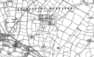 Old Map of Broadwell, 1885 - 1904