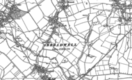 Old Map of Broadwell, 1896 - 1919