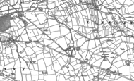 Old Map of Brocastle, 1897 - 1914